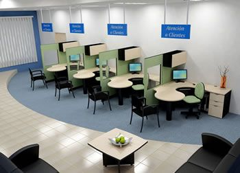 Cubiculos de telemarketing atencion al cliente for Cubiculos de oficina