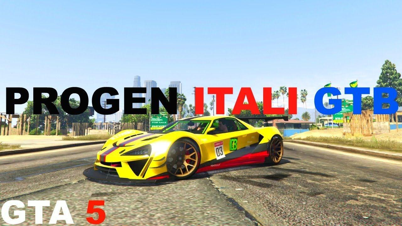 Gta 5 Online Best Super Car Progen Itali Gtb Bennys Custom Gta 5 Super Cars Gta 5 Online