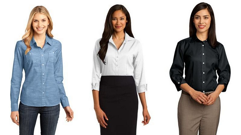 Womens Oxford Shirts from NYFifth