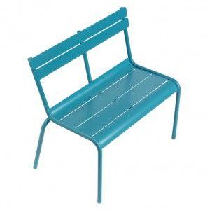 Luxembourg Kid By Fermob Banc Turquoise Mobilier De Jardin Design Chaise Exterieur Banc Exterieur