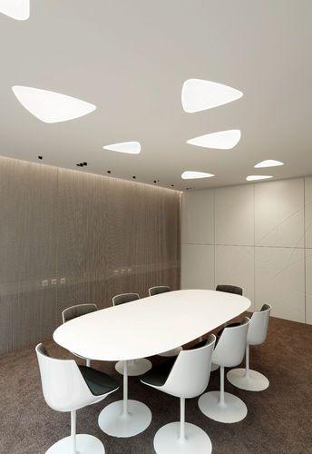 Triangular Recessed Led Ceiling Luminaire Meno Triangle