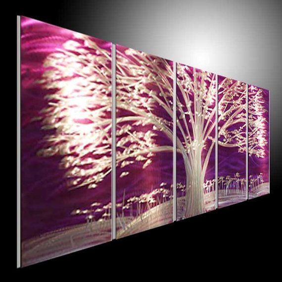 Metal Scupture Wall Art Original Abstract Metal Wall Artsize B 31 4 X80 Inch 31 4 X15 7 X5p H31 4 Xw15 7 X Huge Abstract Art Abstract Metal Wall Art Wall Art