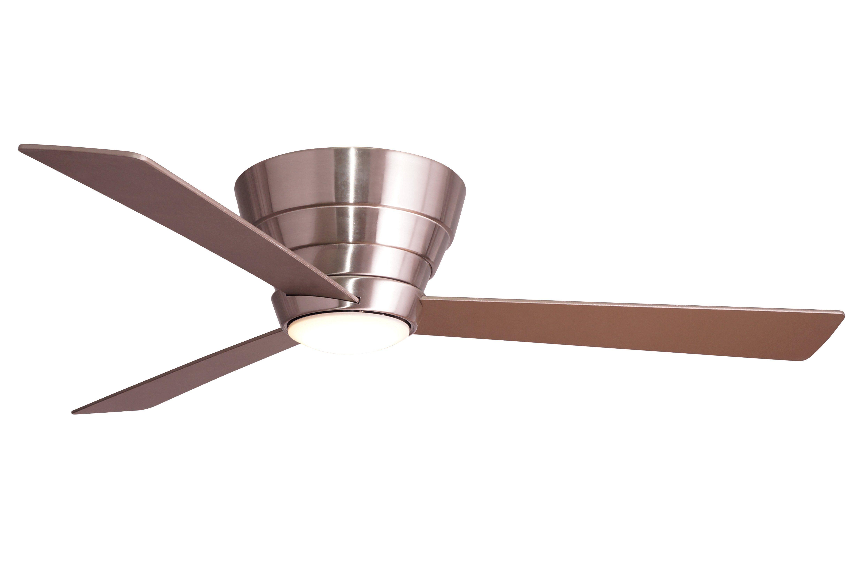 Wind River WR1746SS Niva 54in 3 Blade Hugger Ceiling Fan LED