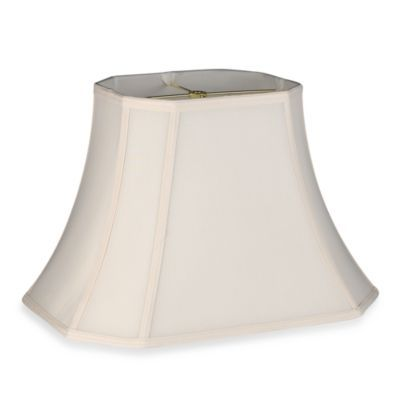 Bed Bath And Beyond Lamp Shades Extraordinary Bed Bath & Beyond Mix & Match Large 18Inch Shantung Cut Corner Decorating Design