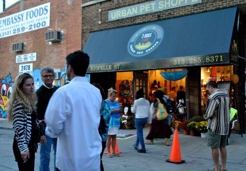 the urban pet store