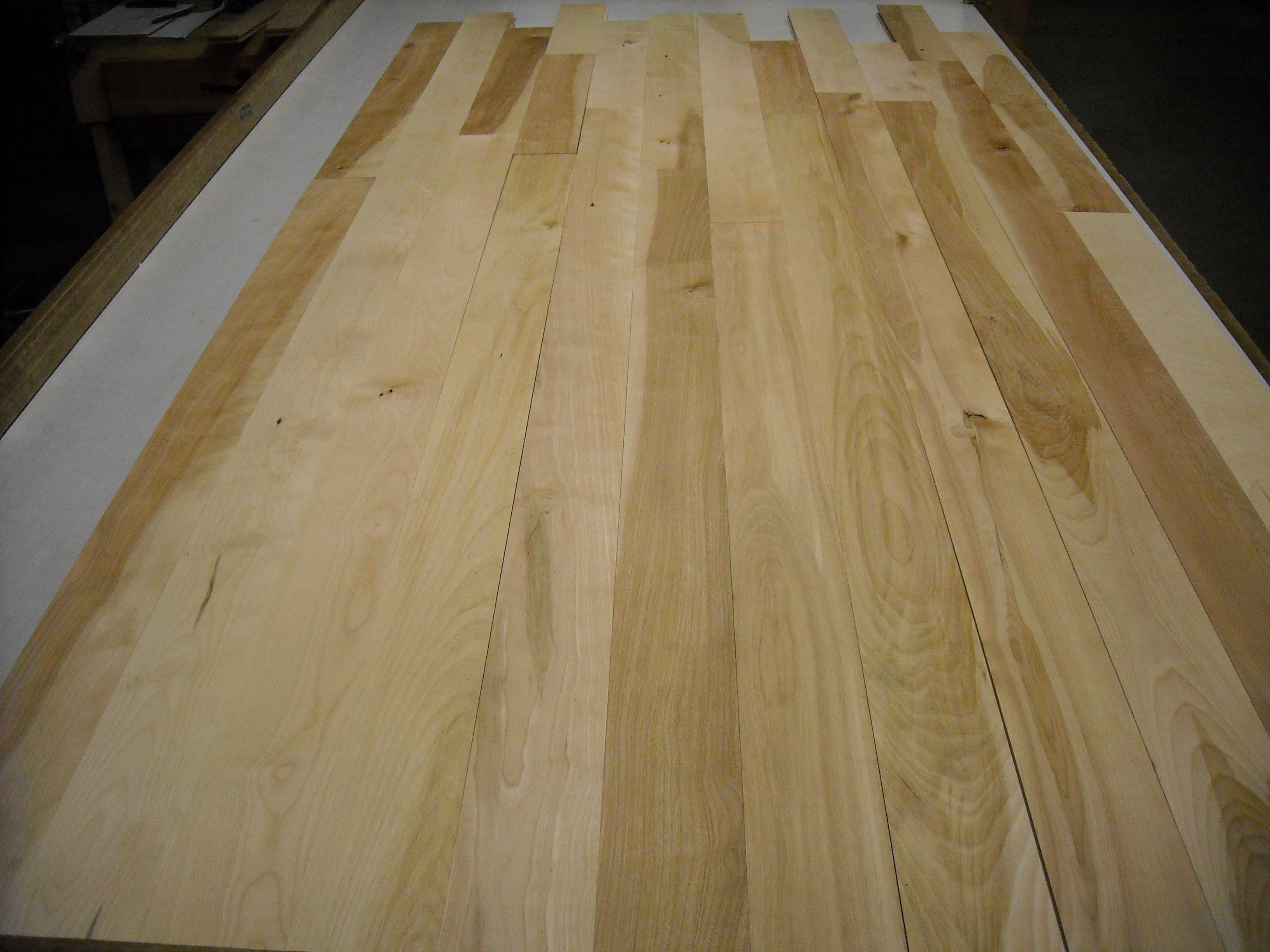 Maine Traditions Hardwood Flooring Unfinished Yellow