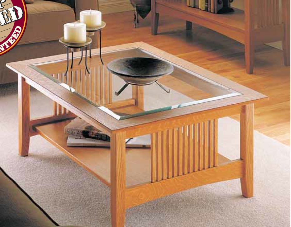 Delicieux Craftsman Coffee Table