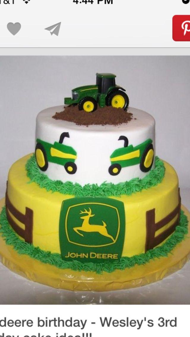 John Deere Birthday Cake Leytons John Deere 3rd Birthday