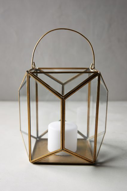 Geo Glow Lantern - anthropologie.eu