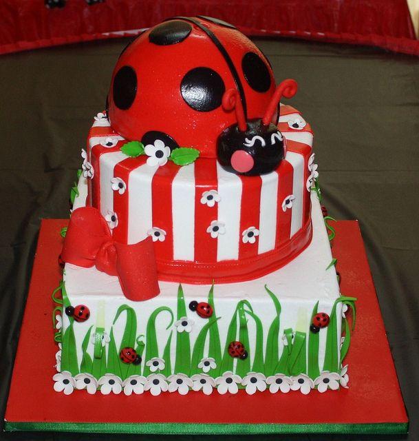 Ladybug 1st Birthday By Its A Piece Of Cake Via Flickr Prachtige