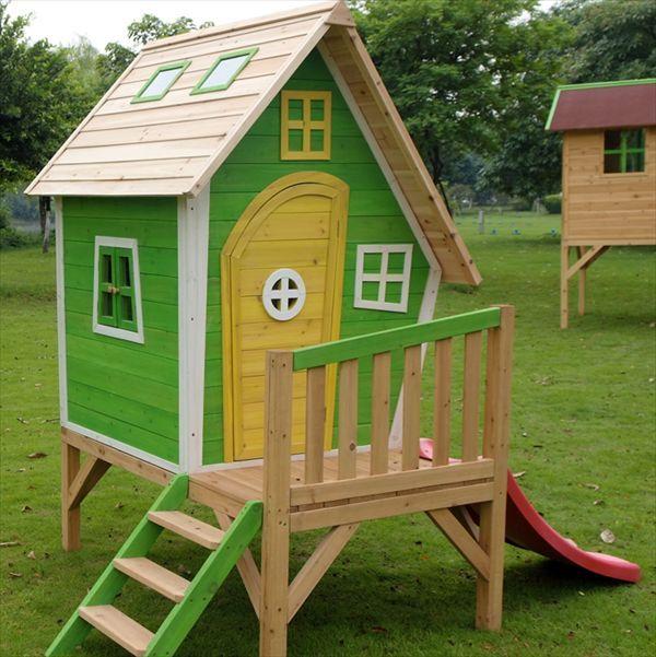 Cómo construir una casa de madera infantil1000 detalles 1000 ideas ...