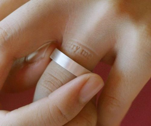 Ring Imprint On Finger Wedding Tips and Inspiration