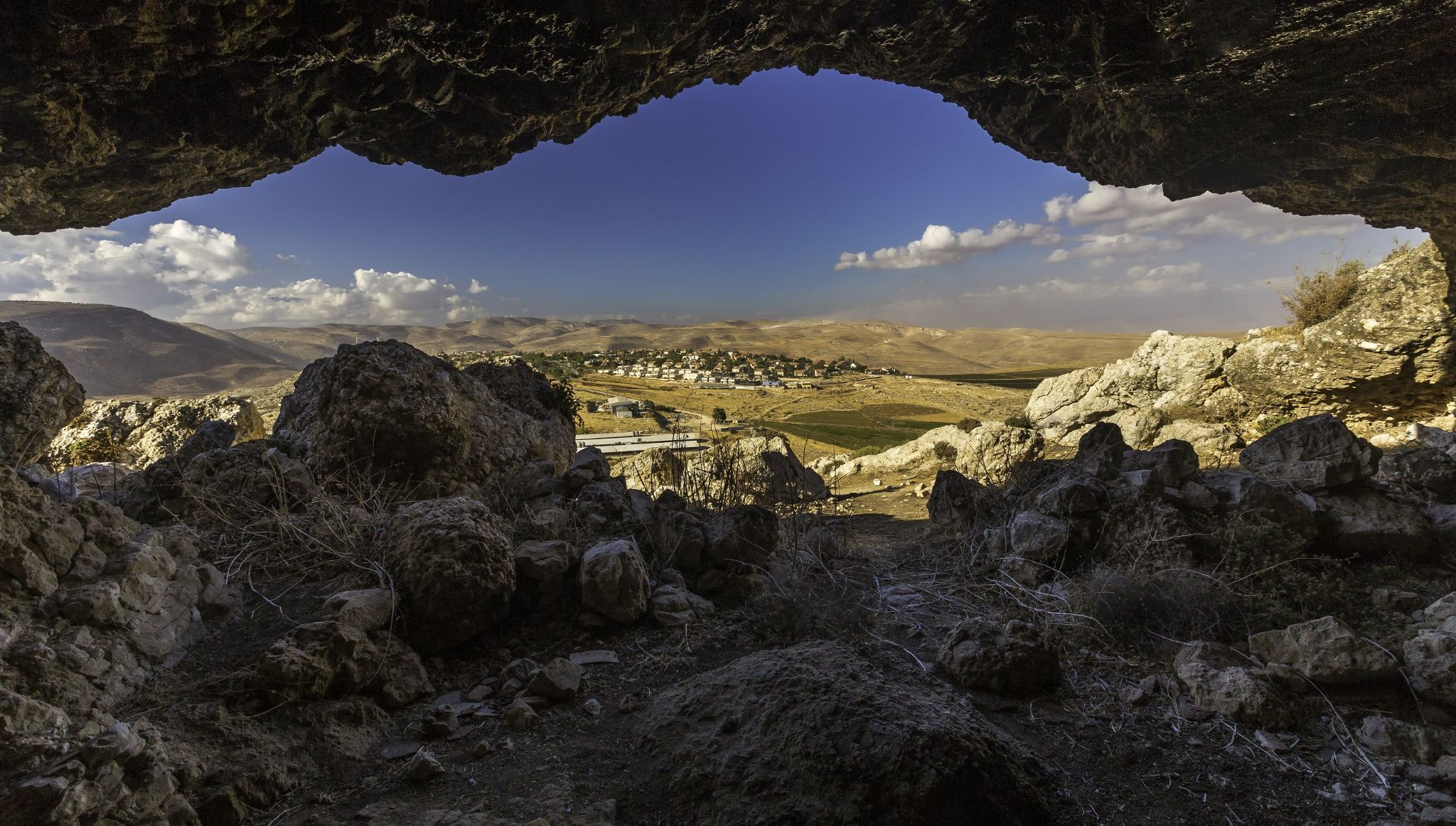"Shepherds Cave by Fred Meyerink on 500px""Inside a Shepherds cave in Israel, tough shot to take because of the darkness inside of the cave and the brightness of the afternoon sun."" Click source to see larger image."