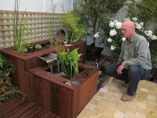 Water Feature Jardin D Eau Decoration Jardin Bassin De Jardin