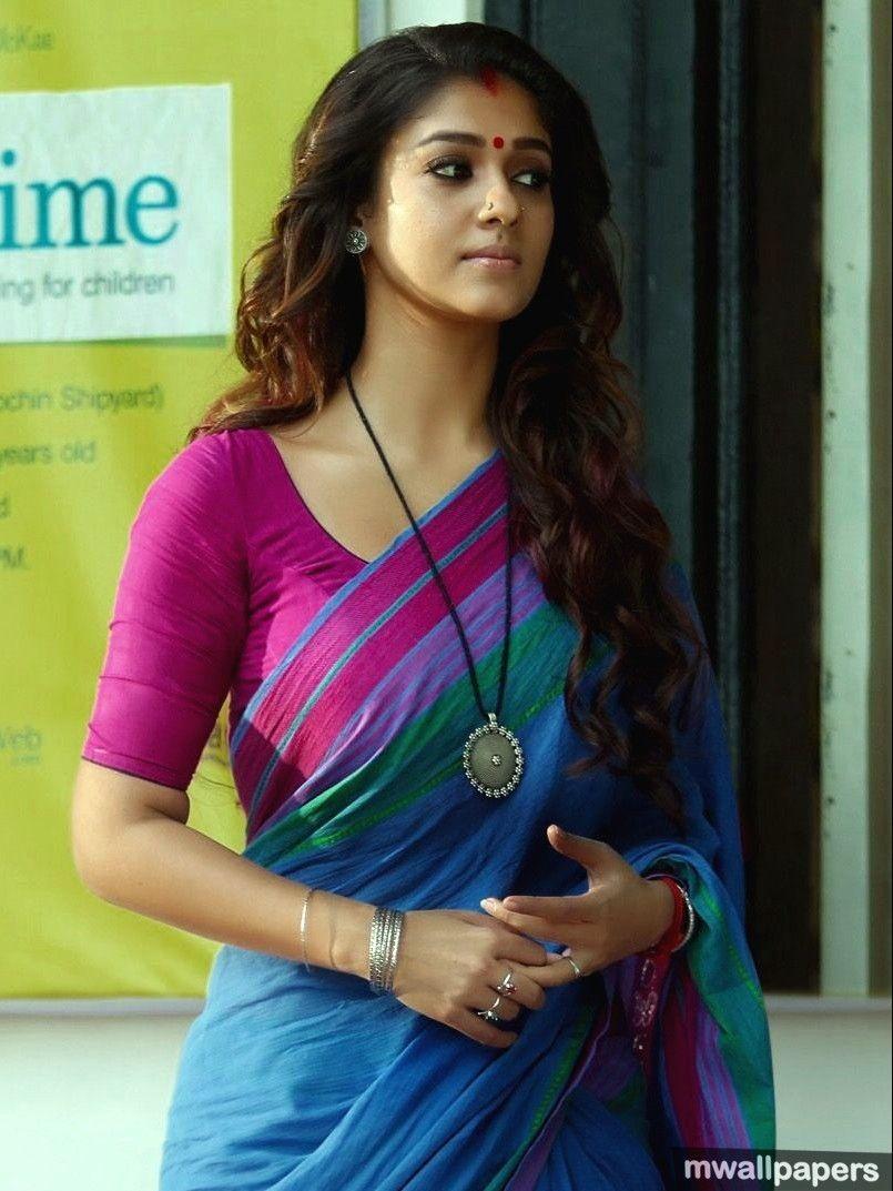 Beautiful Nayanthara Hd Photos In Saree 1080p 9283 Nayanthara