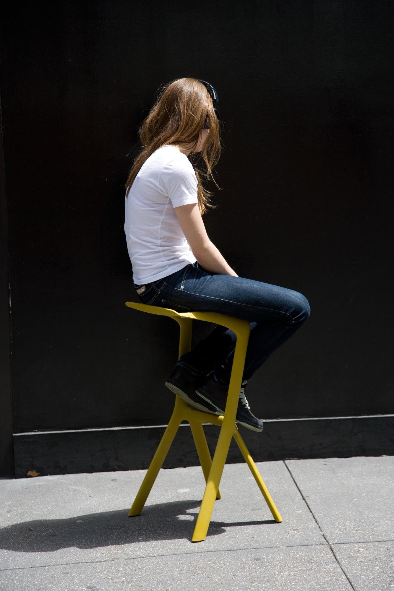 Konstantin grcic bar stool one stool design stools - Miura Stool Designed By Konstantin Grcic For Plank Photo From The Book Miura Stool