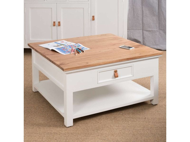 Table Basse En Acajou Chic 90 18020 Vente De Table Basse Conforama Table Basse Table Basse Conforama Meuble De Salle De Bain