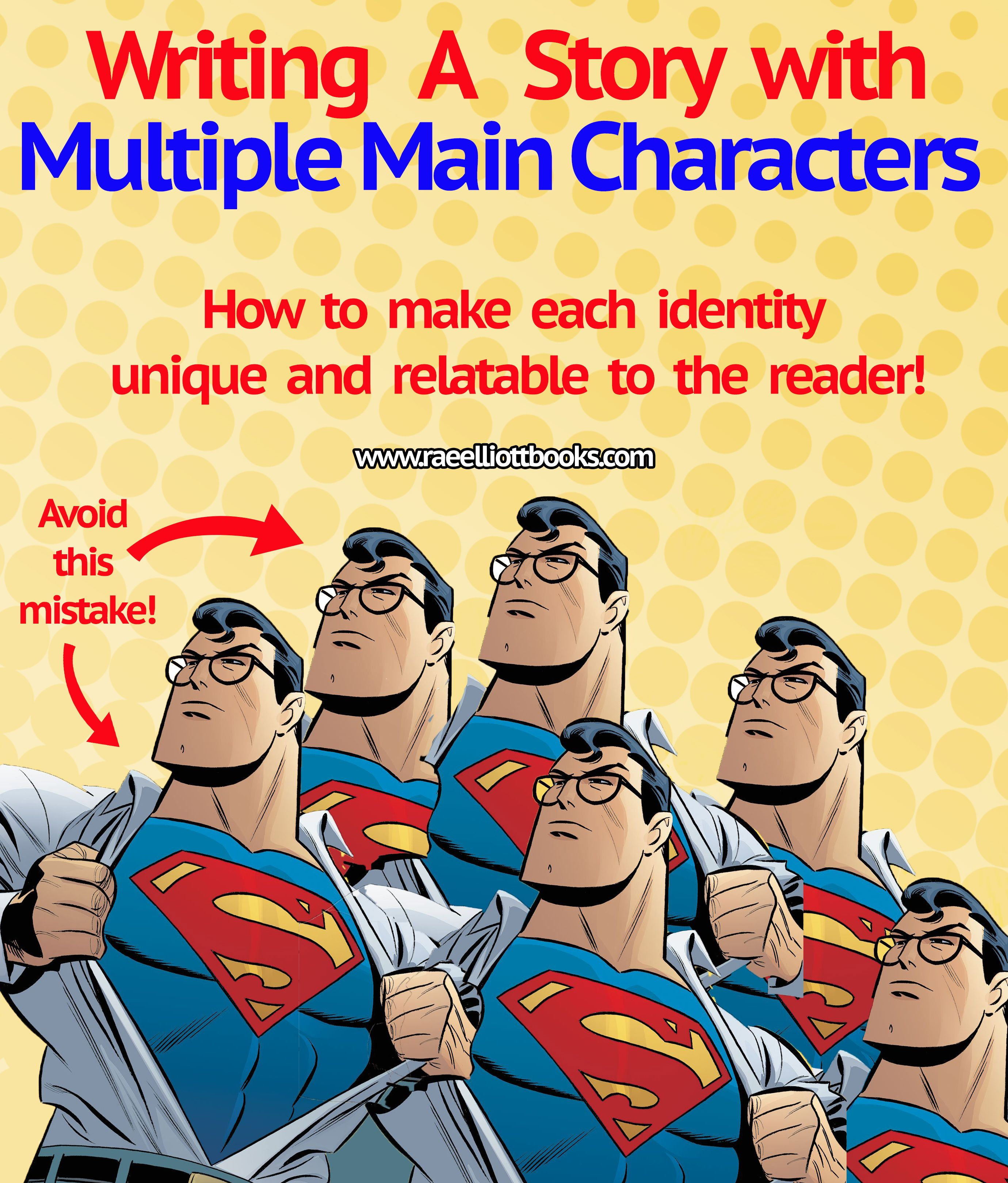 Writing A Story With Multiple Main Characters Eager To