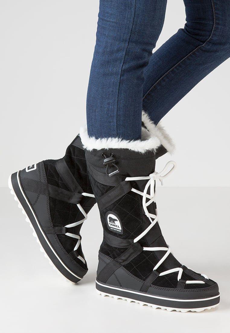 Sorel GLACY EXPLORER - Winter boots - black Yk7b30