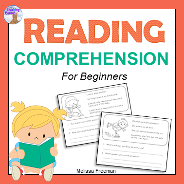 This reading comprehension resource contains 20 pages, each with a picture and 4 short sentences about the picture.