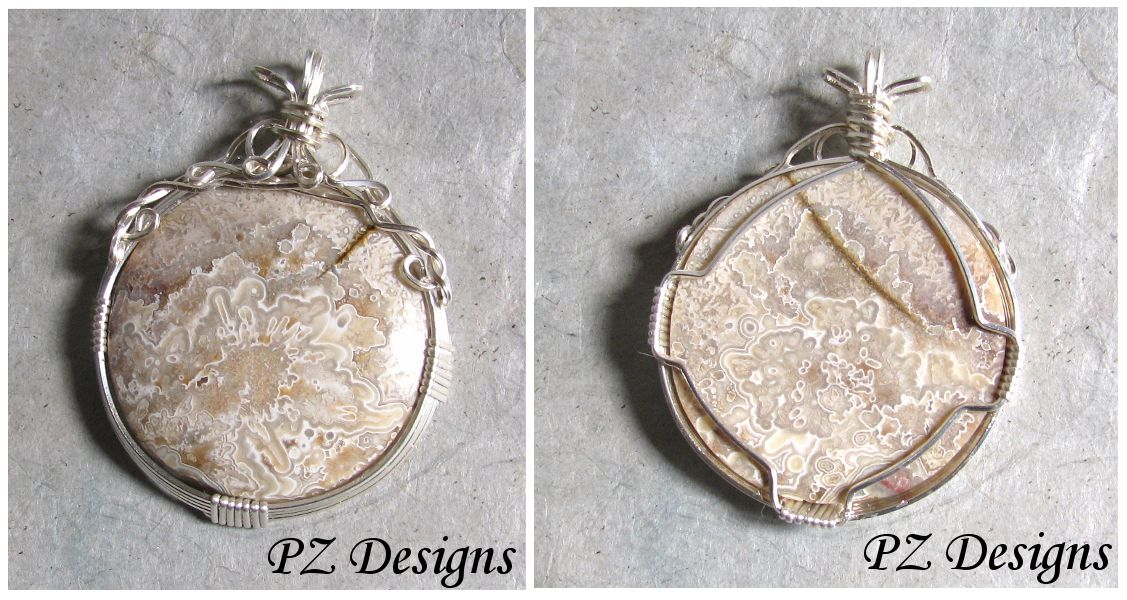 Wire Wrapping Cabochon Instructions | PZ Designs - Handmade Jewelry ...