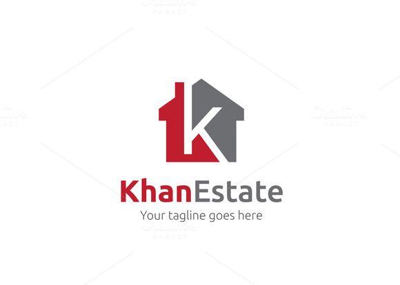 Khan Estate Letter K Logo by XpertgraphicD on Creative Market logo - new zulu formal letter format