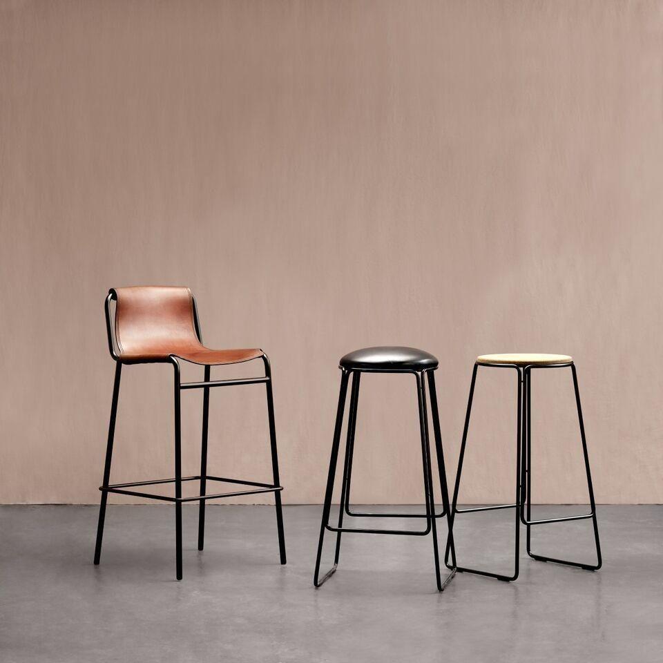 Designer Discount Furniture: September Barstool Cognac
