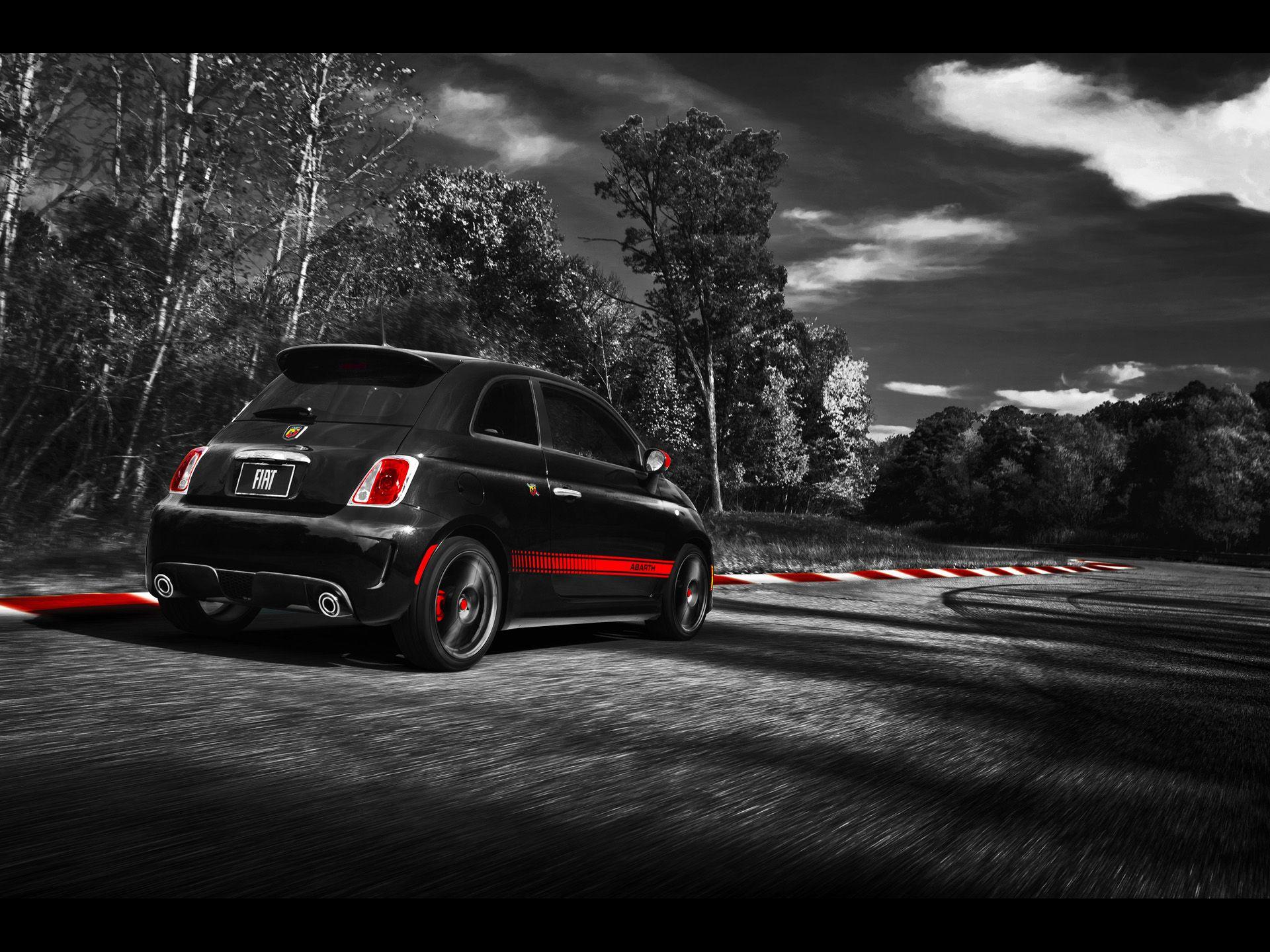 Fiat 500 Abarth Wallpaper 2 Avec Images