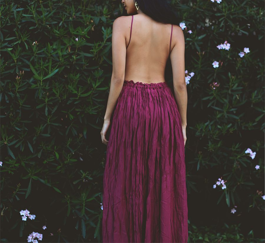 Lani maxi dress