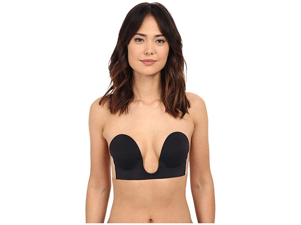 2c9eed2885de6 Fashion Forms U Plunge Backless Strapless (Black) Women s Bra. A  showstopping dress or top requires the right underpinnings.