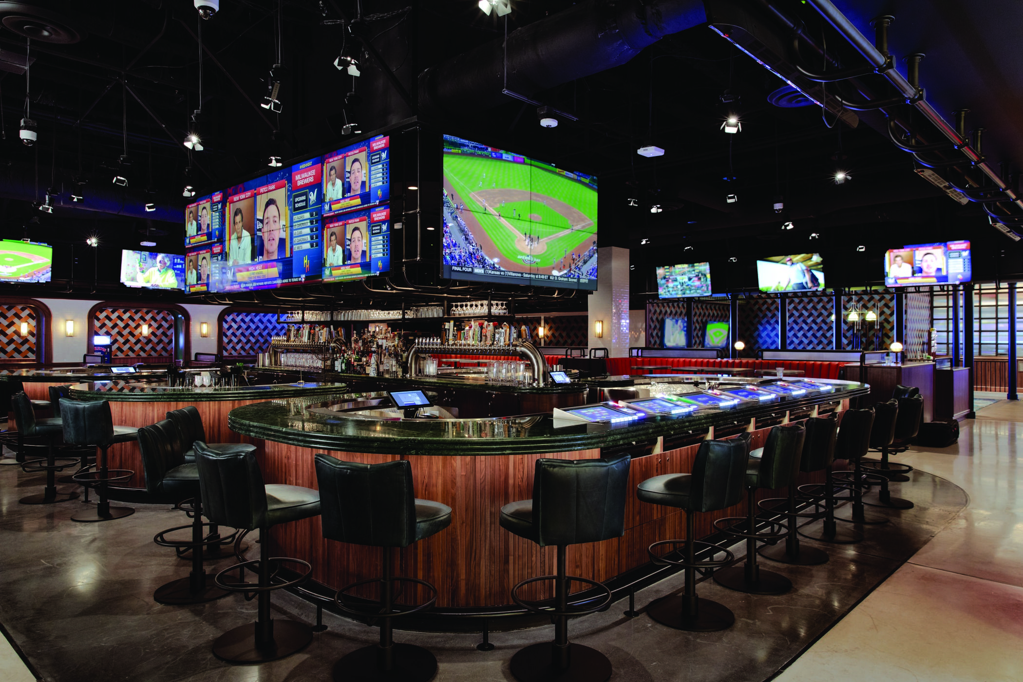 Moneyline at Park MGM is the strip's newest Sports Book