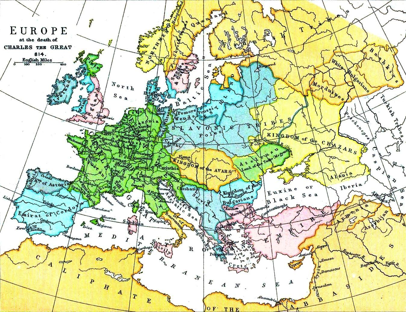Europe Karol Wielki Wikipedia Wolna Encyklopedia - Europe wikipedia