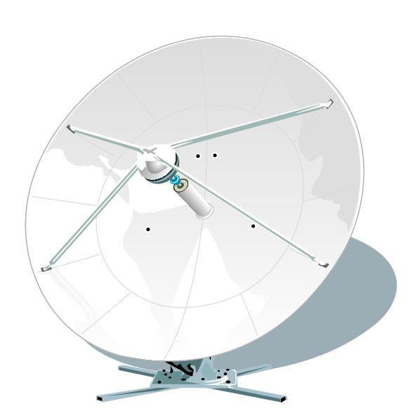 Clipart Of Large Satellite Dish Satellite Dish Clip Art Satellites