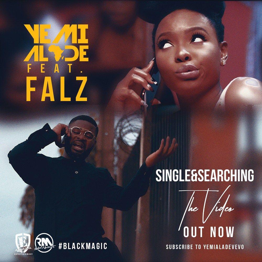 Video: Yemi Alade ft  Falz – Single & Searching | 9ja Breed