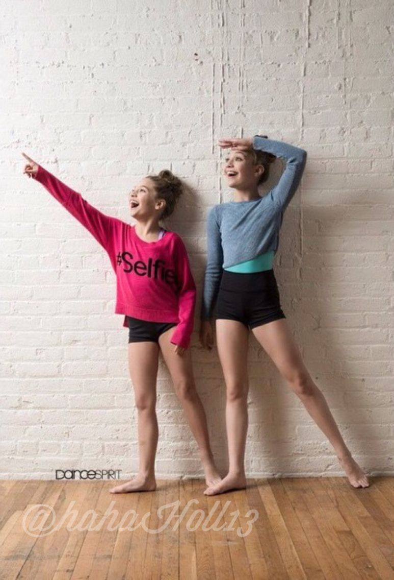 ziegler nude leotard Dance Spirit Magazine: Dance Moms Maddie and Mackenzie Ziegler