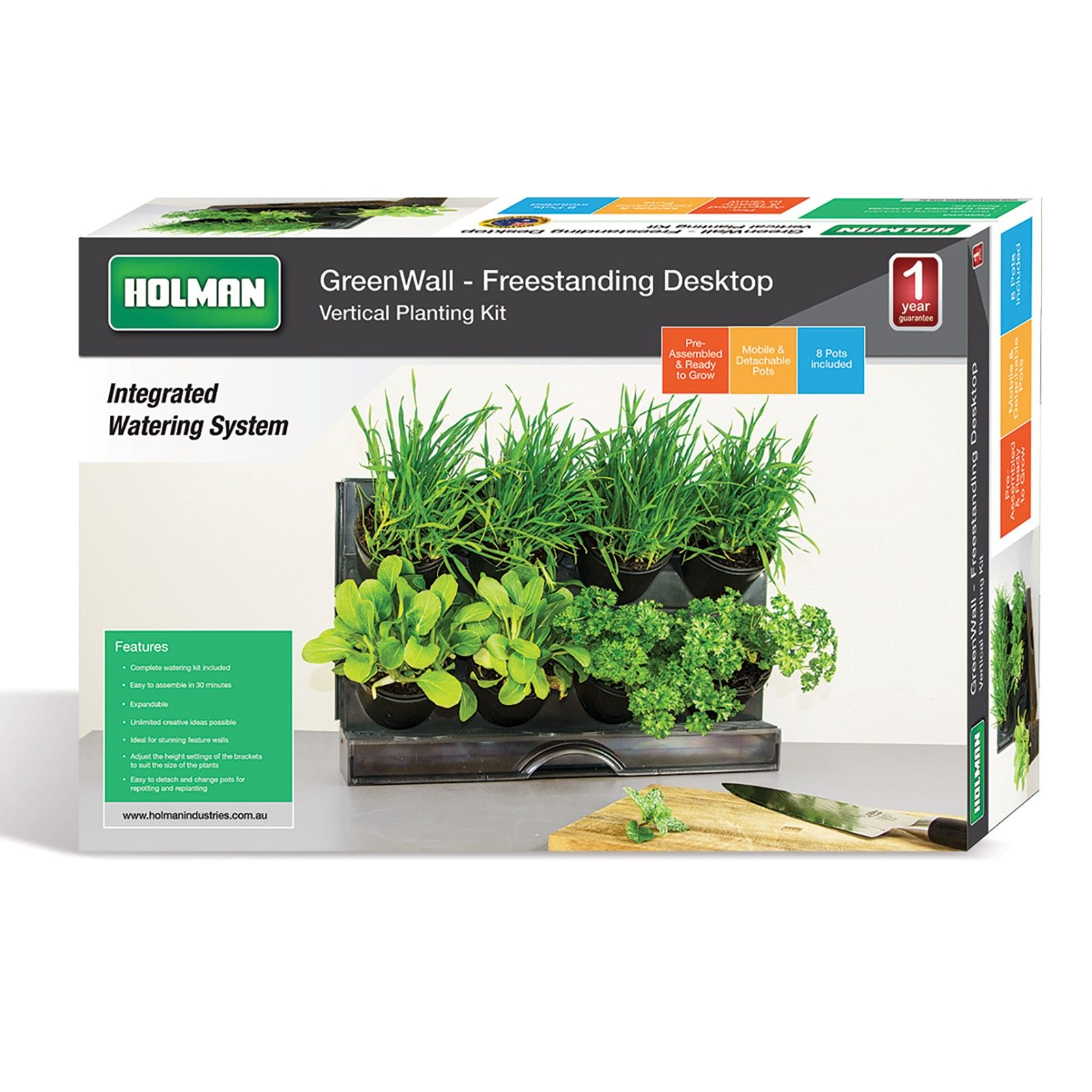 Holman Benchtop Greenwall Vertical Garden Vertical herb