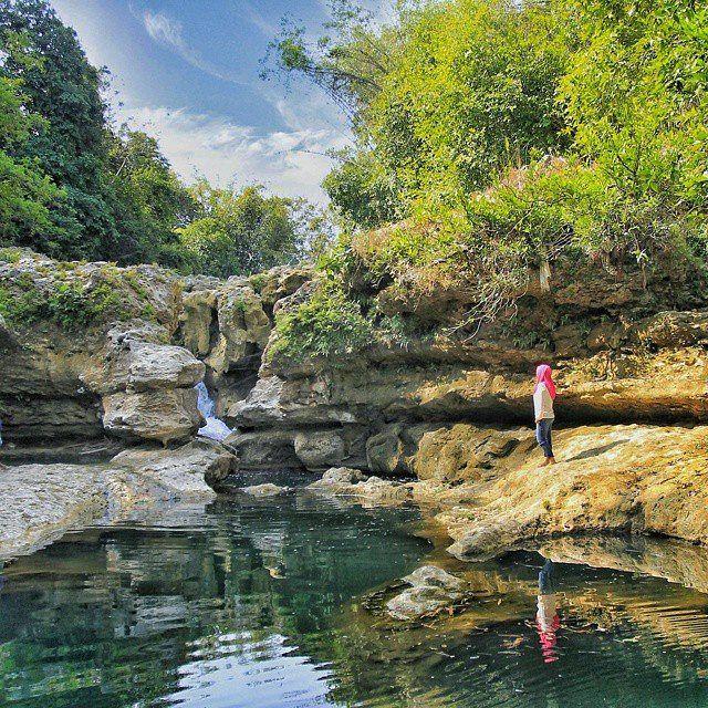 Wisata Alam Air Terjun Tirto Galuh Blitar Jawa Timur