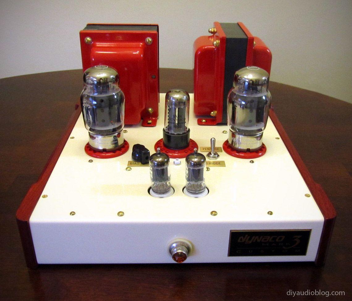 A pair of custom dynaco mk iii monoblock amplifiers diy