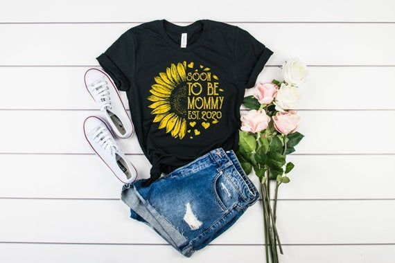 Soon To Be Mommy Est 2020 Shirt, Mom To Be Shirt, Mama In The Making Shirt, Shirt For New Mom, Pregn, #Est #Making #Mama #MOM #Mommy #pregn #shirt