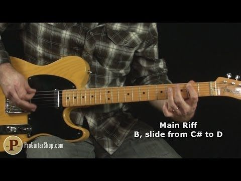 The Rolling Stones - Satisfaction Guitar Lesson - YouTube | guitar ...