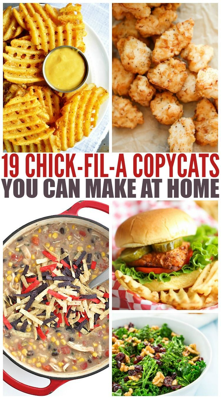 19 chick fil a copycats you can make at home copycat healthy 19 chick fil a copycats you can make at home chilli recipeseasy recipeshealthy recipeshealthy fast food forumfinder Choice Image
