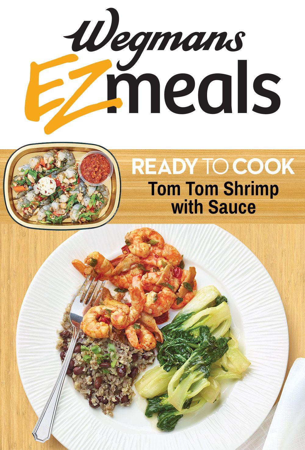 Wegmans Ready to Cook Tom Tom Shrimp with Sauce | EZ Meals ...