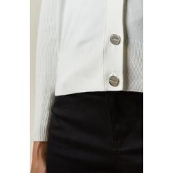 Photo of Knitted cardigan with button placket Ted Baker