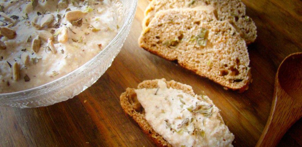 Resultado de imagen para Paté vegetal de semillas de girasol y levadura de cerveza
