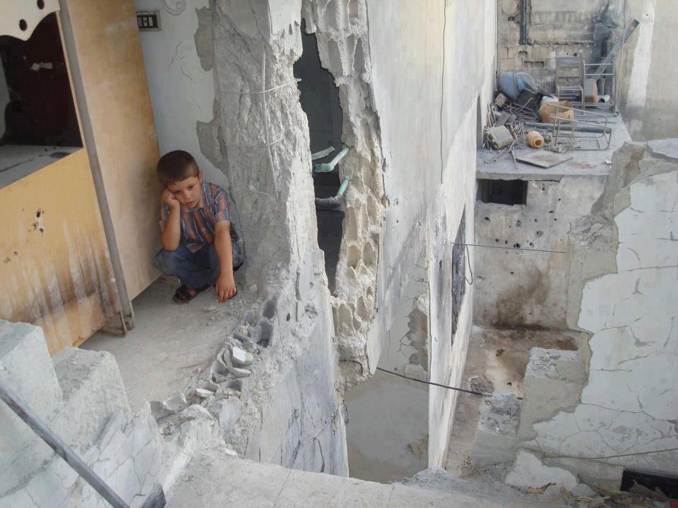 Syrian Children -- Civil War In
