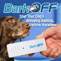 Bark Off The Ingenious Ultrasonic Training Aid That Allows You