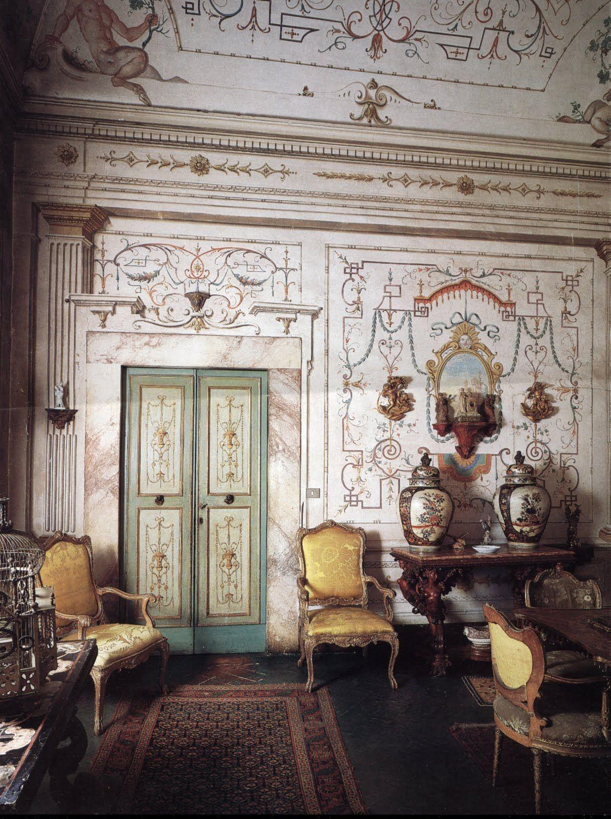 Antiques In Italian Interiors Italian Home Decor Antiques