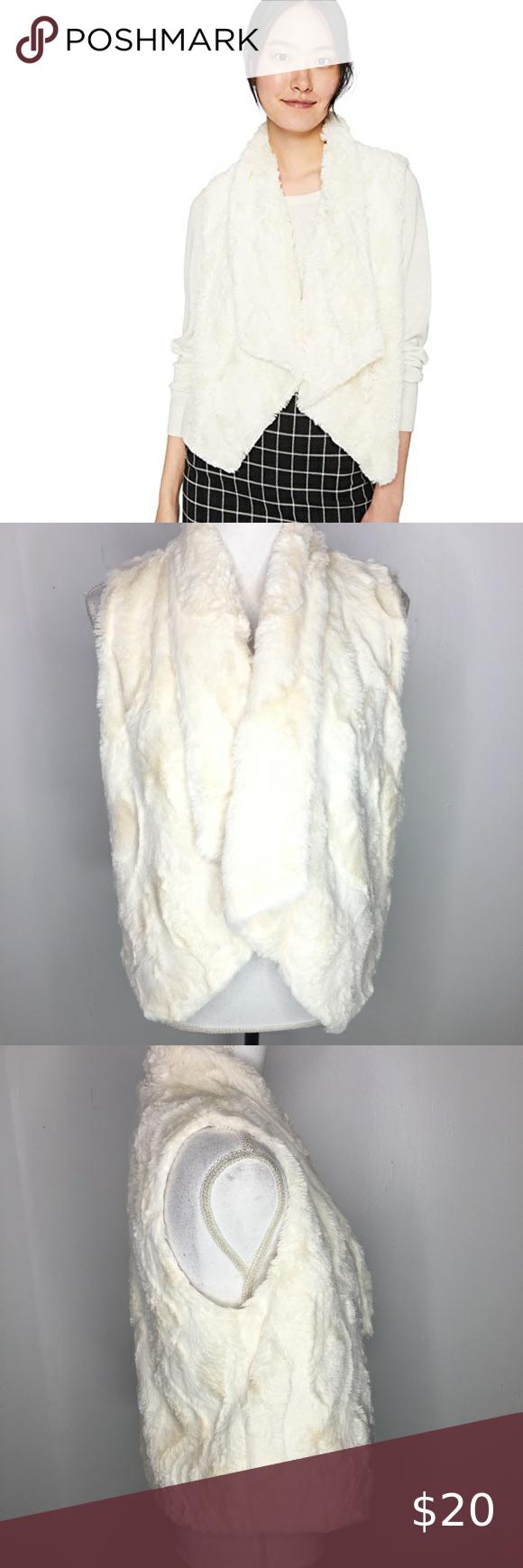 Jack By Bb Dakota White Big Softy Faux Fur In 2021 Faux Fur Vests Fur Vest Fashion [ 1740 x 580 Pixel ]