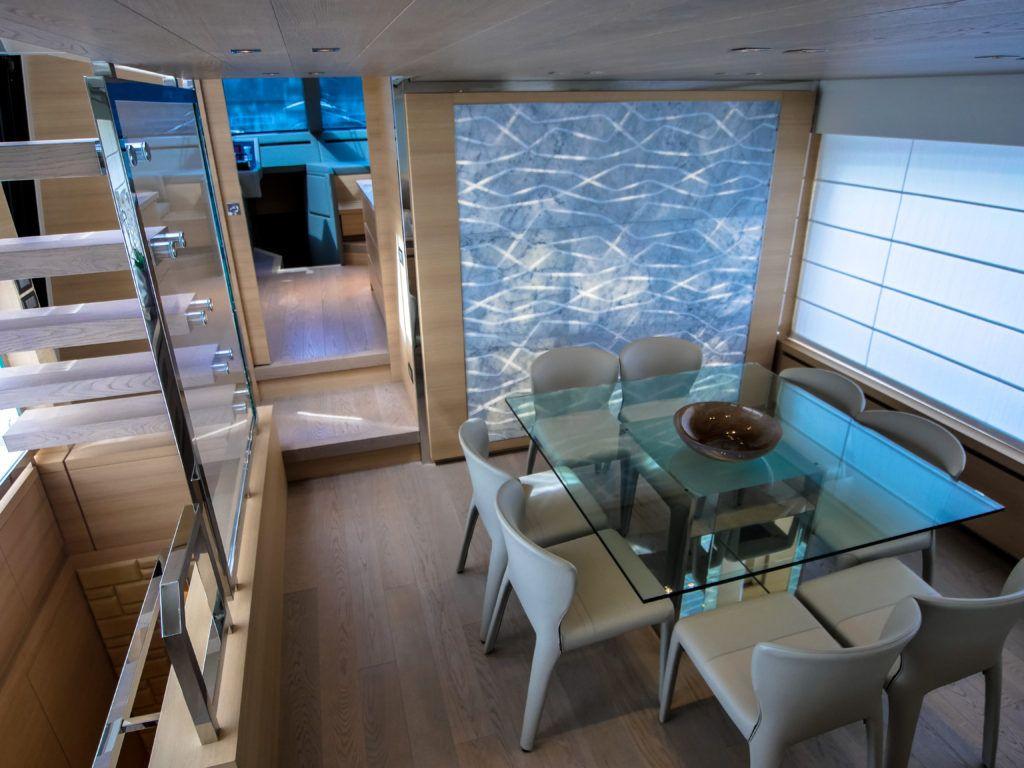 Yacht Review Sanlorenzo 86 Marble Trend Luxury Yacht Interior