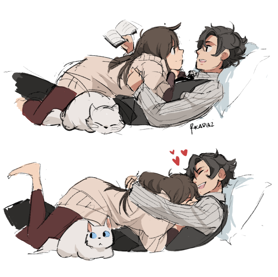 Mystic messenger cuddles with the trust fund kidyes cuddle